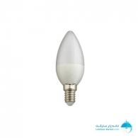 لامپ ال ای دی شمعی 5 وات آفتابی نمانور